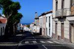 Die Straßen von Vila do Porto, Santa Maria.