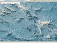 Mitten im Atlantik ist alles voller Wasserberge.