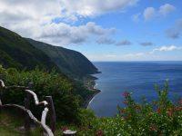 Steilküsten überall. Sao Jorge.