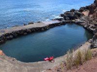 Der Felsenpool bei Topo im Osten der Insel.