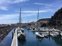 Die Marina von Velas.
