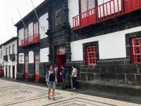 Das Rathaus von Velas.