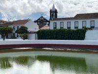 Die Lagune. Santa Cruz, Graciosa.