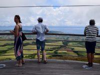 Auf dem Berg. Terceira.