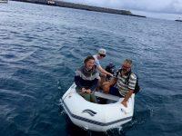Zurück an Bord. Ausflug auf Terceira.
