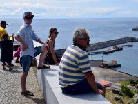 Erster Inselausflug auf den Hausberg von Praia da Vitoria.