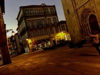 Abendliche Runde. Viana do Castelo.