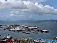 Vigo - Blick über den Hafen.