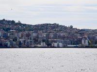 Vigo Wasserkante - kein besonders schöner Anblick .....