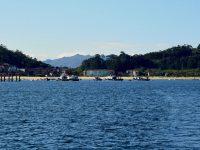 Die Bucht von Aldan. Hier ist nicht viel los.....