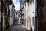 Viele alte Häuser in Viveiro.