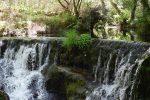 Wasserfall in der Nähe von Viveiro.