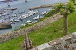 TinLizzy im Hafen von Ribadeo.