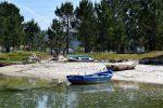 Lagune von Esteiro.