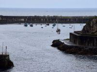 TinLizzy im Hafen von Cudilleiro.