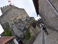 Zum alten Castell von San Vicente de la Barquera.