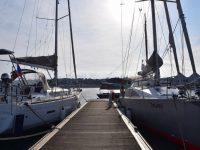 TinLizzy im Hafen von Camaret sur Mer.