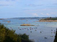 Die Bucht von Cantarec bei Niedrigwasser.