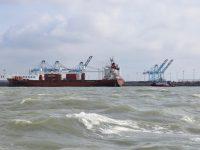 Der Hafen von Zeebrugge.