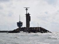 Einfahrt nach Zeebrugge.