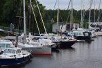 Im Hafen von Volkerak in der Schelde.