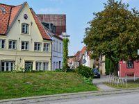 """Glückstadt. Hier geht es in die """"City""""."""