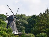 Gibt´s nicht nur in Holland: Windmühlen.