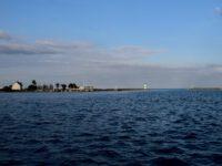 Schleimünde und der kleine Hafen an der Giftbude.