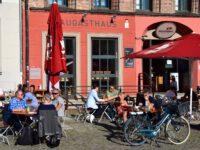 Greifswald, Marktplatz.