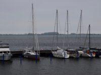 TinLizzy im Hafen von Wiek.