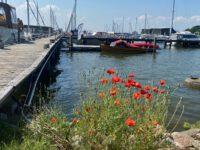 Krumminer Hafen.