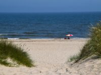Es gibt auch einsame Strandabschnitte.