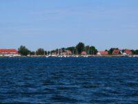 Der Hafen von Vitte, Langenort. Hiddensee.