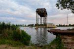 Heute ein Museum: Die 1945 zerstörte Usedom-Hebebrücke.