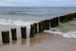 Am Strand bei Dziwnow.