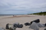 Der Strand an der Dziwna-Mündung.
