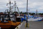 Im Fischereihafen von Dziwnow.