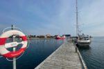 TinLizzy im Hafen von Langør