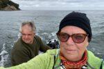 TinLizzy vor Æbelø. Erste Ausfahrt.